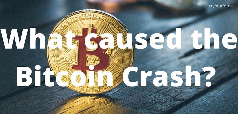 Bitcoin crash causes Panic among Investors