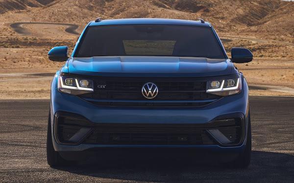 VW Atlas Cross Sport GT Concept: SUV esportivo rebaixado com rodas 22