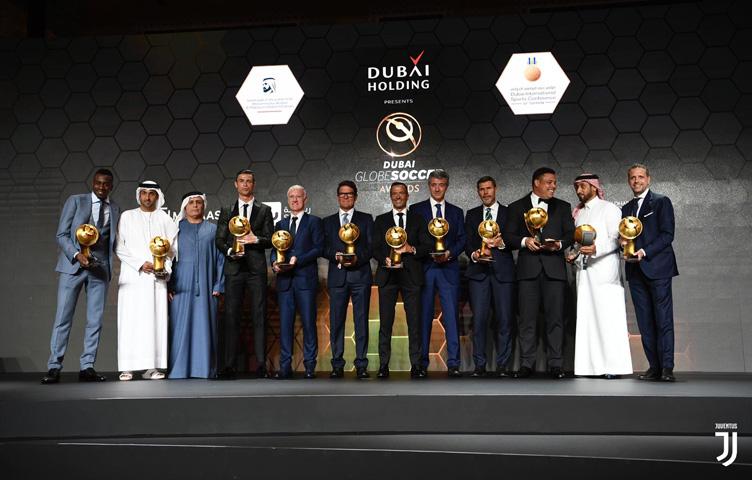 Paratici, Matuidi i Ronaldo među nagrađenima u Dubaiu
