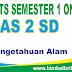 Soal UTS IPA Online Kelas 2 SD Semester 1 (Ganjil) - Langsung Ada Nilainya
