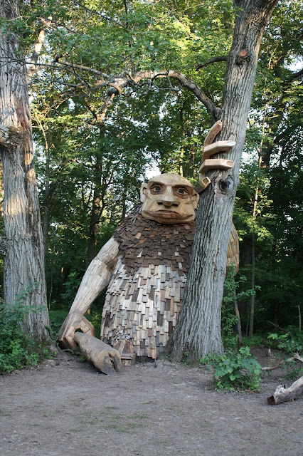 Looking for Trolls at The Morton Arboretum