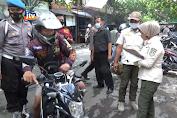 Tekan Angka Covid-19, Operasi Yustisi Sasar Pedagang Pasar
