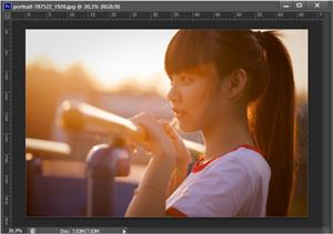 cara menambahkan lens flare pada foto di photoshop