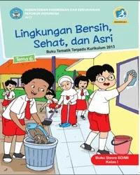Buku tema 6 Siswa Kelas 1 K13 2017