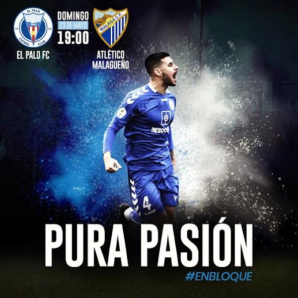 El Palo - Atlético Malagueño, hoy domingo a las 19:00 horas