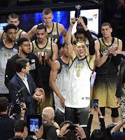 BALONCESTO (All Star NBA 2016) - Estados Unidos se toma la revancha del año pasado en el partido de rookies