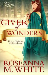 https://www.amazon.com/Giver-Wonders-Roseanna-M-White/dp/1939023831/ref=sr_1_1?s=books&ie=UTF8&qid=1476869810&sr=1-1&keywords=giver+of+wonders