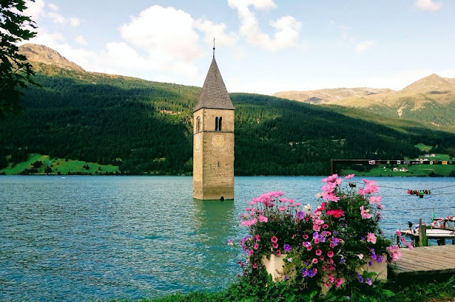 Curon-Venosta-campanile