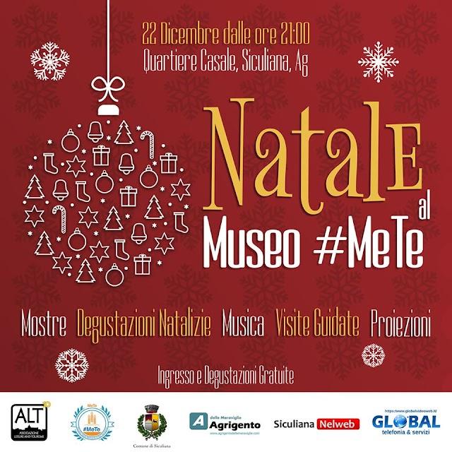 Natale al Museo #MeTe tra degustazioni, mostre, proiezioni e musica.