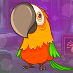 Games4King - G4K Winsome Parrot Escape Game