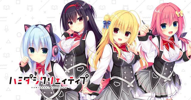 Novela visual Hamidashi Creative tendrá adaptación al anime