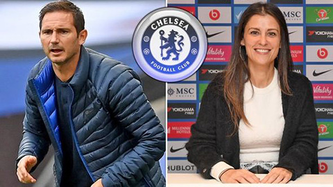 Lộ lý do Lampard bị sa thải: Chống lại 'sếp bà' Granovskaia