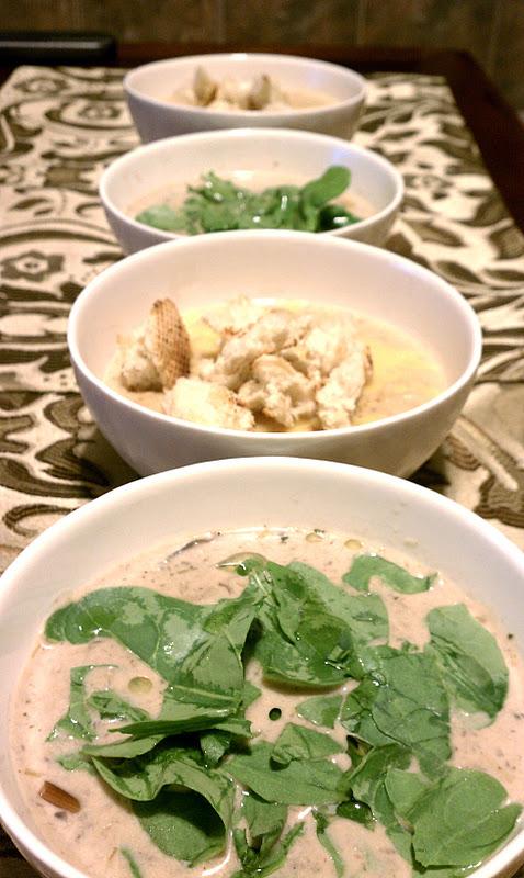 wild mushroom soup cream