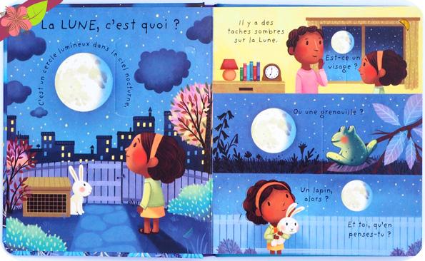 C'est quoi la Lune ? - Usborne