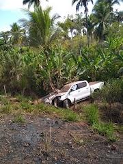 Acidente de carro na manhã deste domingo (8) entre Poção de Pedras e Esperantinópolis.