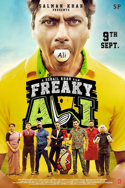 Poster of Freaky Ali 2016 Full Movie 720p HDRip x264 ESubs Download