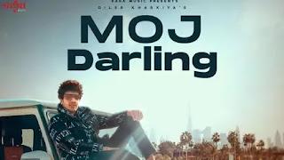 Moj Darling Lyrics in English - Diler Kharkiya