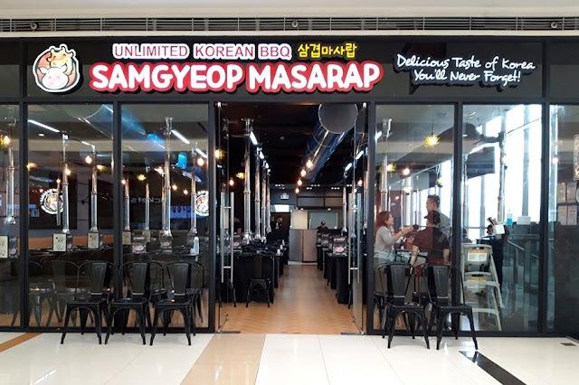 Samgyeopmasarap SM City Marikina