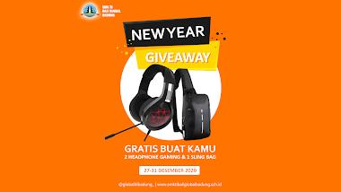 SMK TI Bali Global Badung Adakan Giveaway Tahun Baru. Yuk Ikutan.!