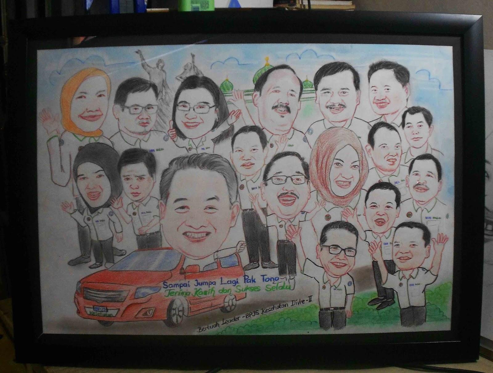 Galeri Sketsa Wajah Dan Karikatur Riau