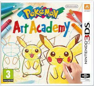Pokemon Art Academy 3ds cia
