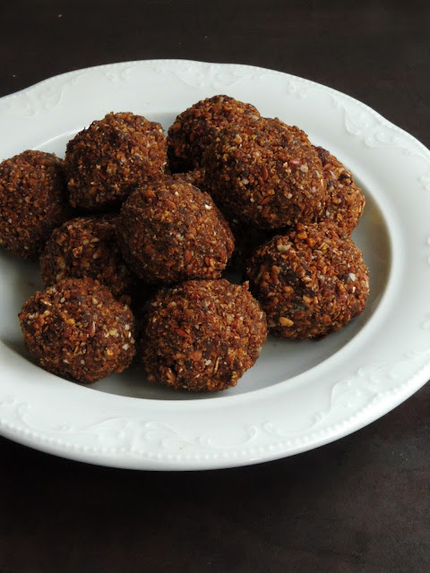 Honey muesli balls