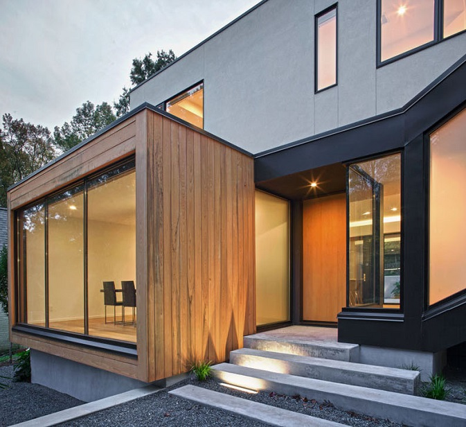 Casas Minimalistas Y Modernas Accesos Minimalistas