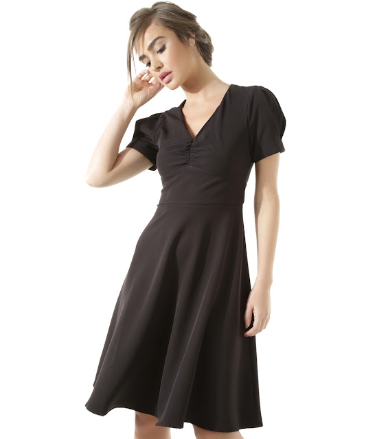 Vestido elle a elegância dos anos 40