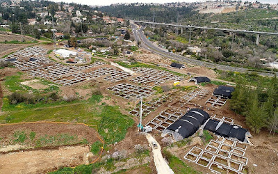Ένας τεράστιος, ανεπτυγμένος οικισμός 9.000 ετών βρέθηκε κοντά στην Ιερουσαλήμ
