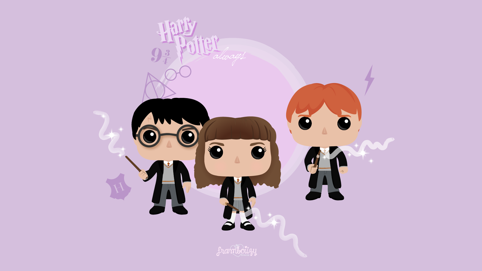 Wallpaper 11 Pop Harry Potter Framboiizy
