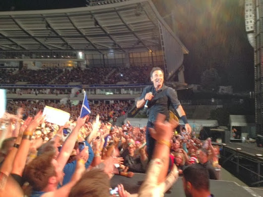 Springsteen at Auckland - Show 1