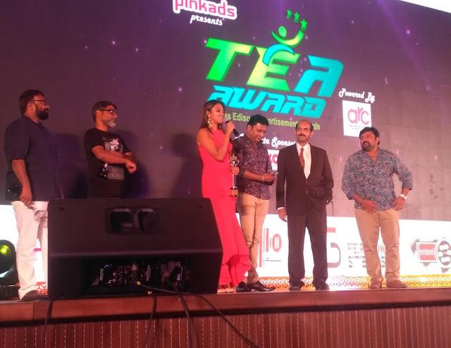 Actress Amala Paul at 4th Annual TEA Awards 2017