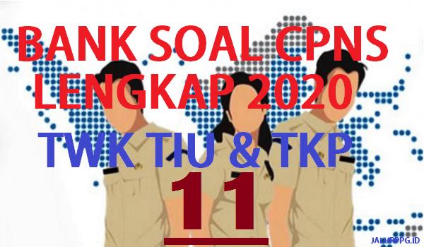Bank Soal Cpns Twk Tiu Tkp 11 Jalurppg Id