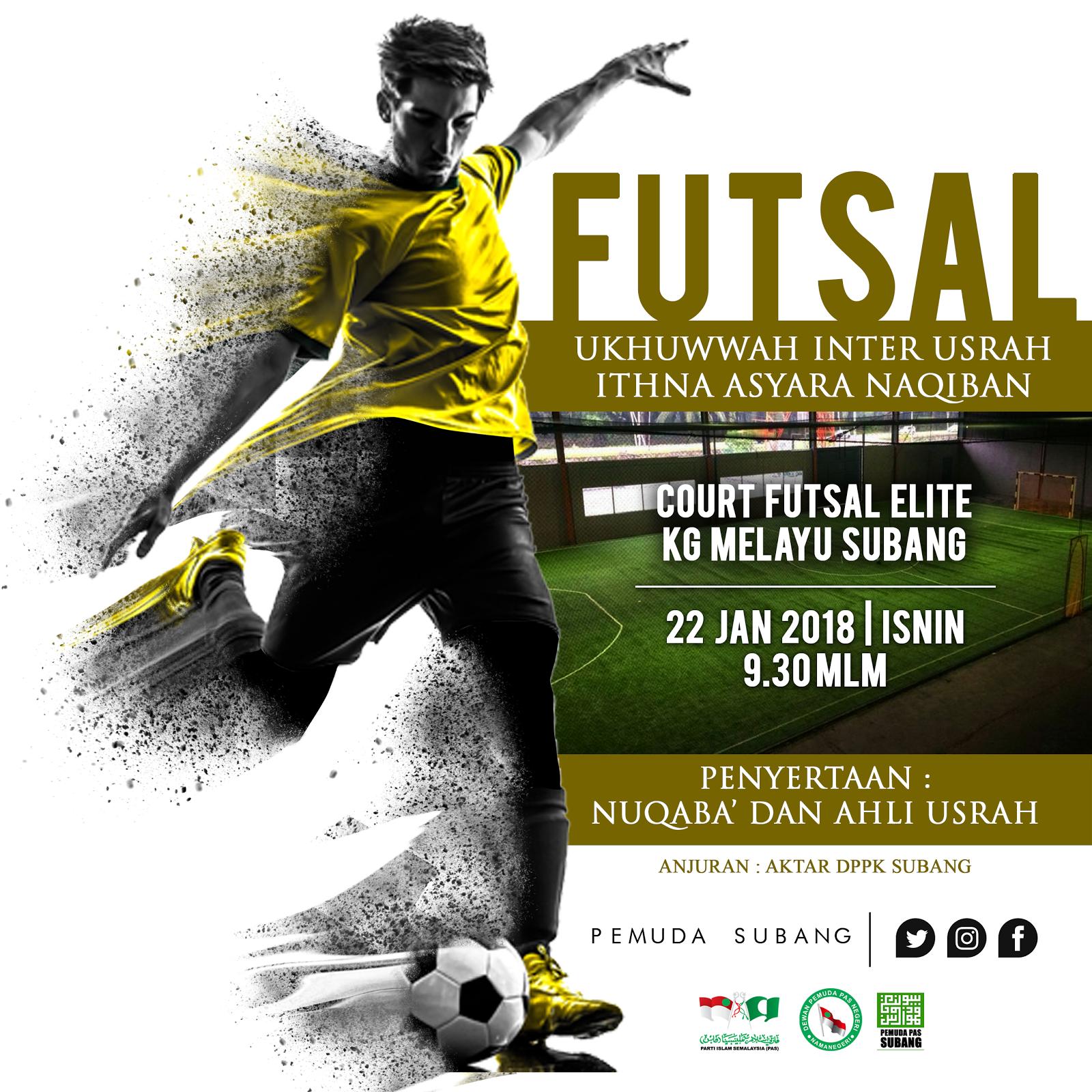 Home Design Logo Printing Murah 4 U Design Poster Futsal Usrah Untuk Geng