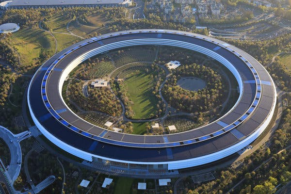 Apple's Office, Which Will Also Be Safe in Dangerous Natural Disasters