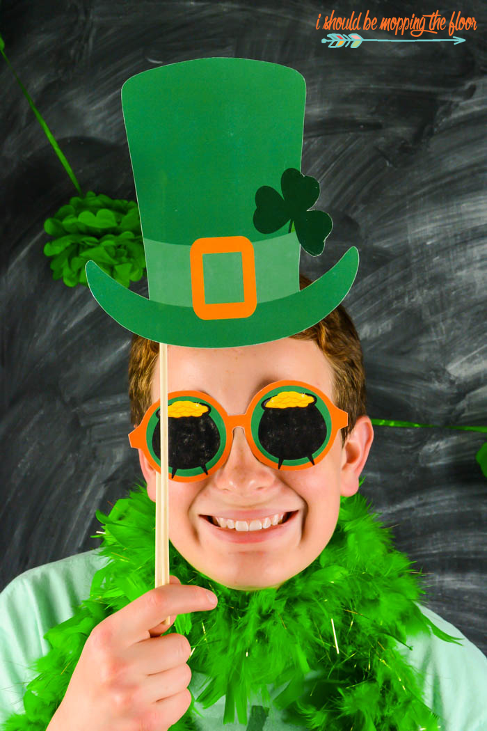 St. Patrick's Day Photo Booth