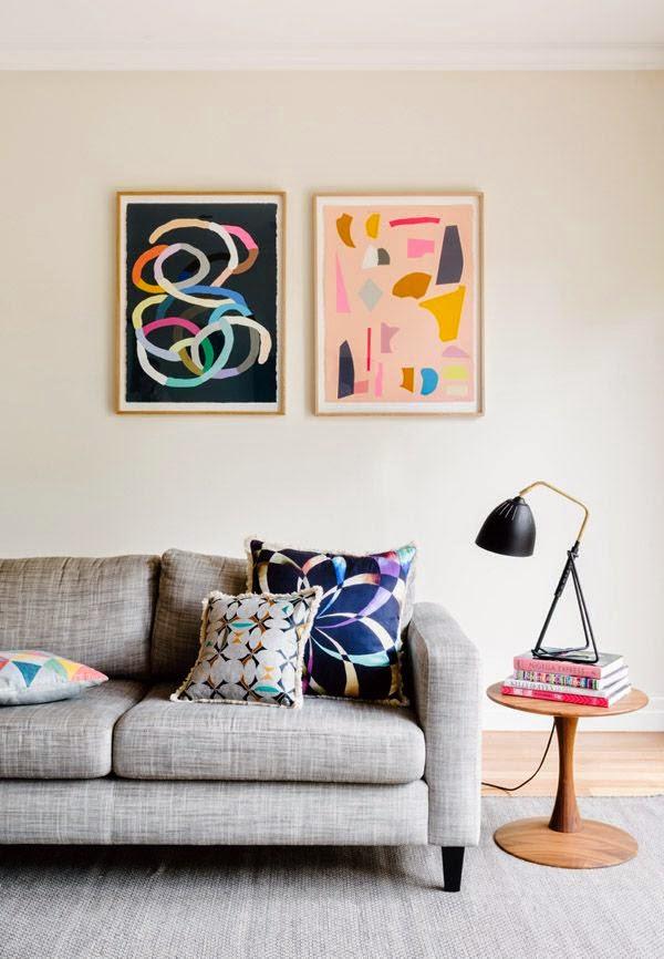 25 ideas de decoraci n de salas que poner al lado del sofa for Repisas estilo industrial