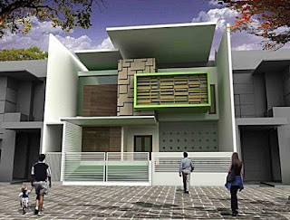 Cool 2-storey minimalist home design - Lampung interior house