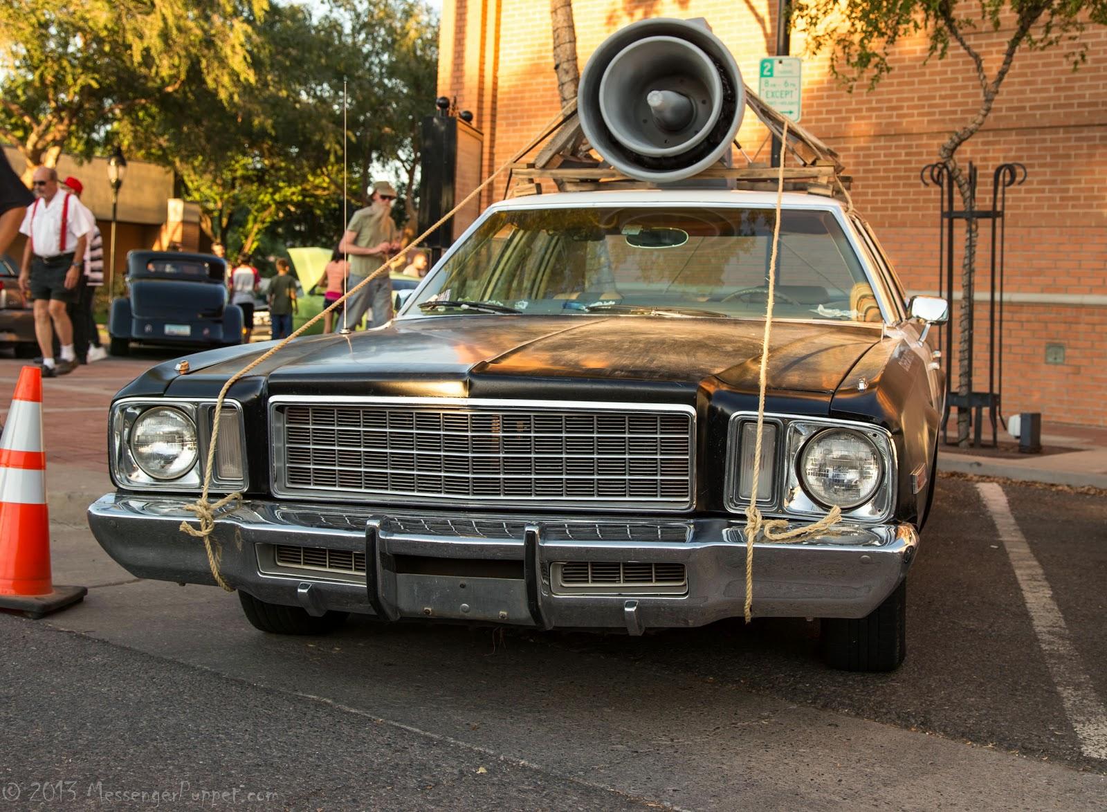 1974 Plymouth, Fury, bluesmobile