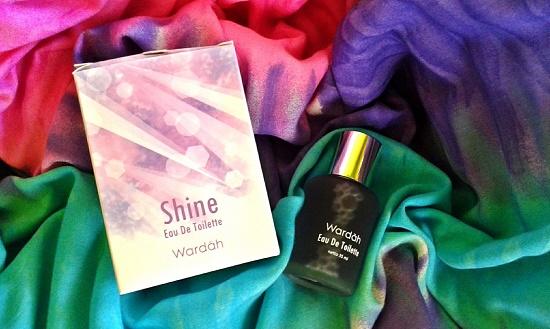 Review dan harga parfume Wardah varian Shine