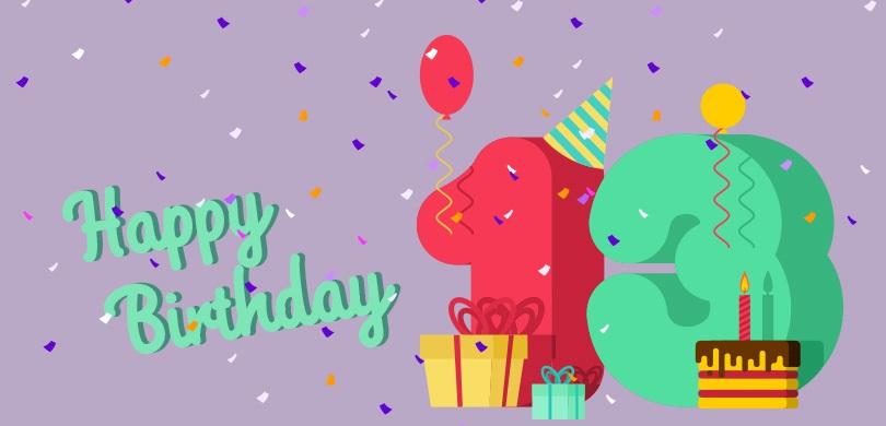 Geburtstagswünsche 13 Jahre - Coole Geburtstagssprüche für Teenager