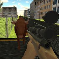 لعبة  إطلاق النار على الثيران