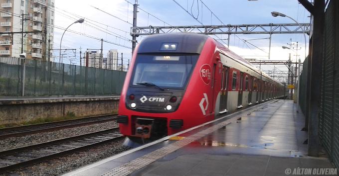 Alagamento prejudica circulação da Linha 7-Rubi da CPTM