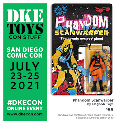 San Diego Comic-Con 2021 Exclusive Phandom Scanwarper Resin Figure by Magoob Toys x Killer Bootlegs x DKE Toys