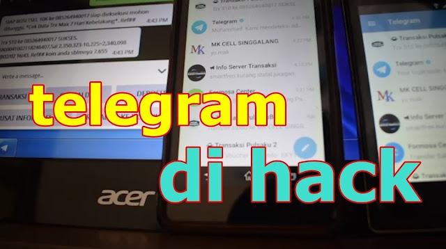 Cara Hack Telegram Tanpa Kode Verifikasi