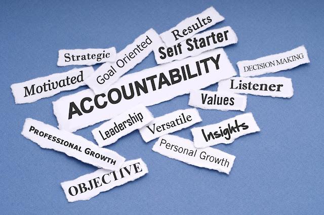 ေအာင္သူၿငိမ္း ● တာဝန္ယူ တာဝန္ခံမႈ (Accountability)