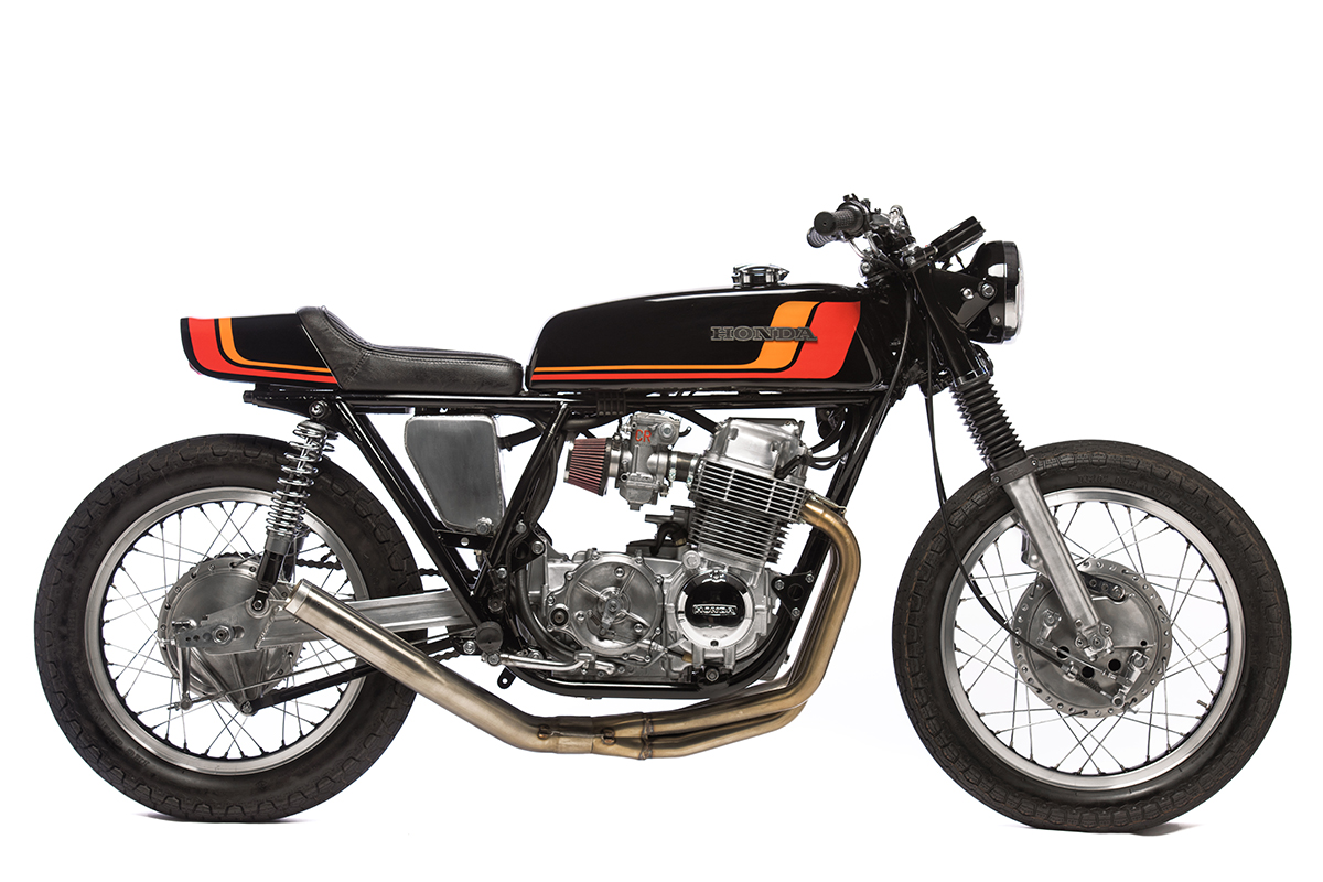 70s style guide honda cb750 racer return of the cafe racers. Black Bedroom Furniture Sets. Home Design Ideas