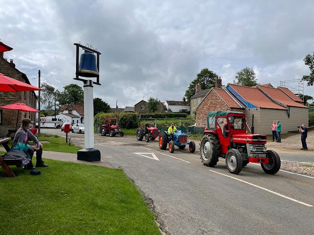Belchford tractor trail