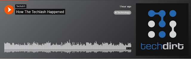 Techdirt podcast How the Techlash happened