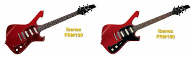 Ibanez FRM 100 and Ibanez FRM 150 Electric Guitars